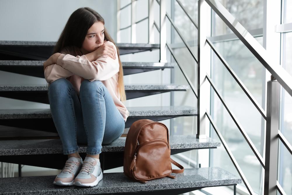 Isolated Teen